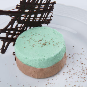 MOUSSE DE MENTA Y CHOCOLATE